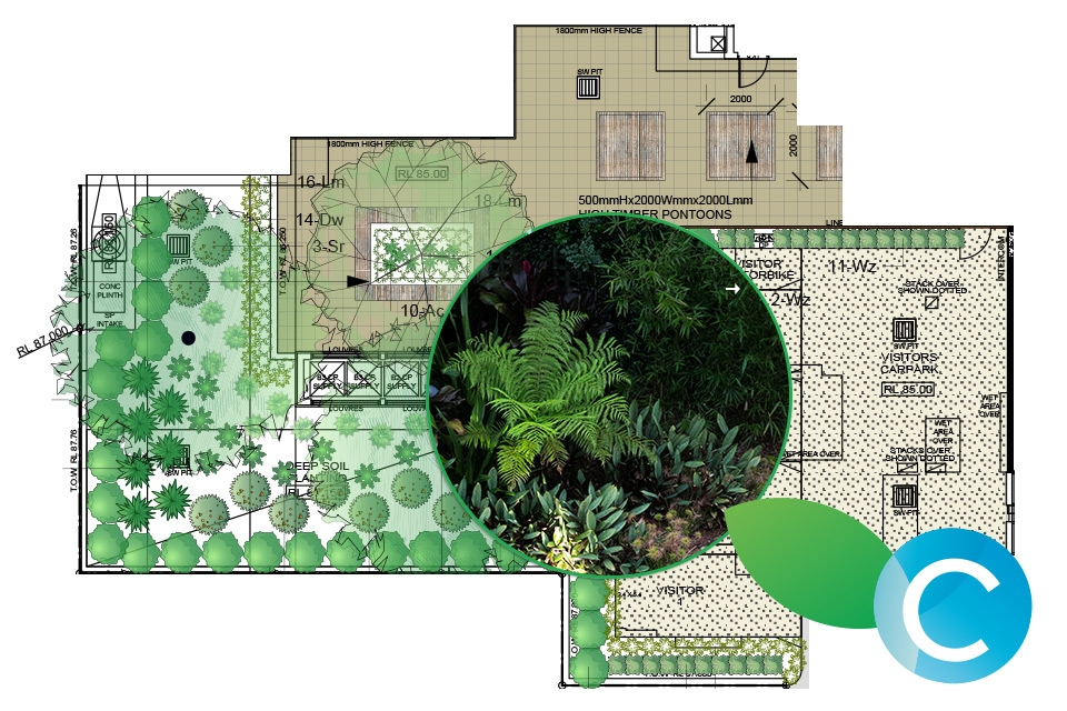 Residential gallery captivate landscape design for Residential landscape plan